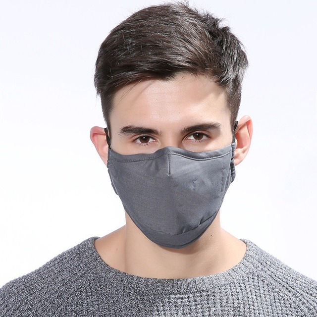 PM2.5 mouth Mask anti dust Activated carbon filter Windproof Mouth-muffle bacteria proof Flu masks 5