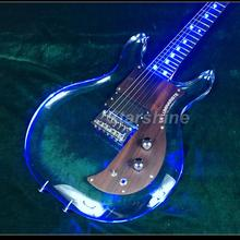 T-ED4 LED Light 6string armstrong electric guitar ,one humbucker bolt on neck armstrongbass