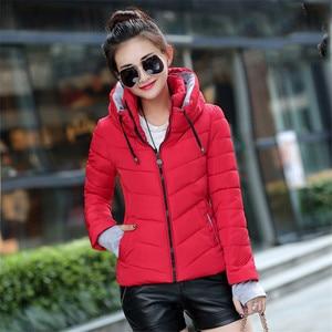Image 4 - Winter Jacket Women New 2020 Autumn Warm Down Jacket female Long Parkas Big Size XXXL Women Winter Coats Outwear