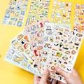 VanYi 24 дизайна милые наклейки с мультяшными животными в упаковке эстетические Скрапбукинг планировщик пуля журнал канцелярские принадлежно...