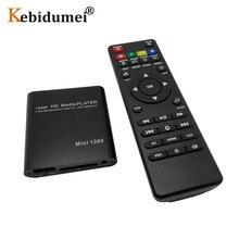 Full HD 1080P Media Video Player With HDMI compatible VGA AV USB SD/MMC Mpeg2 HD TV Box Surpport Mkv H.264 HDD MultiMedia Player