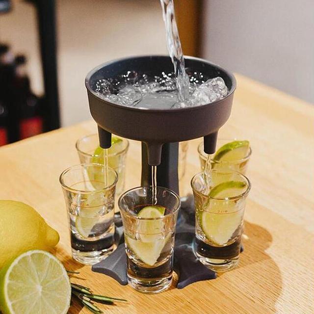 6 Shot Glass Dispenser 3