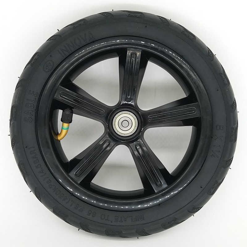 Neumático eléctrico de 8 pulgadas 8X1 1/4 neumático interior 200x45 neumático rueda entera
