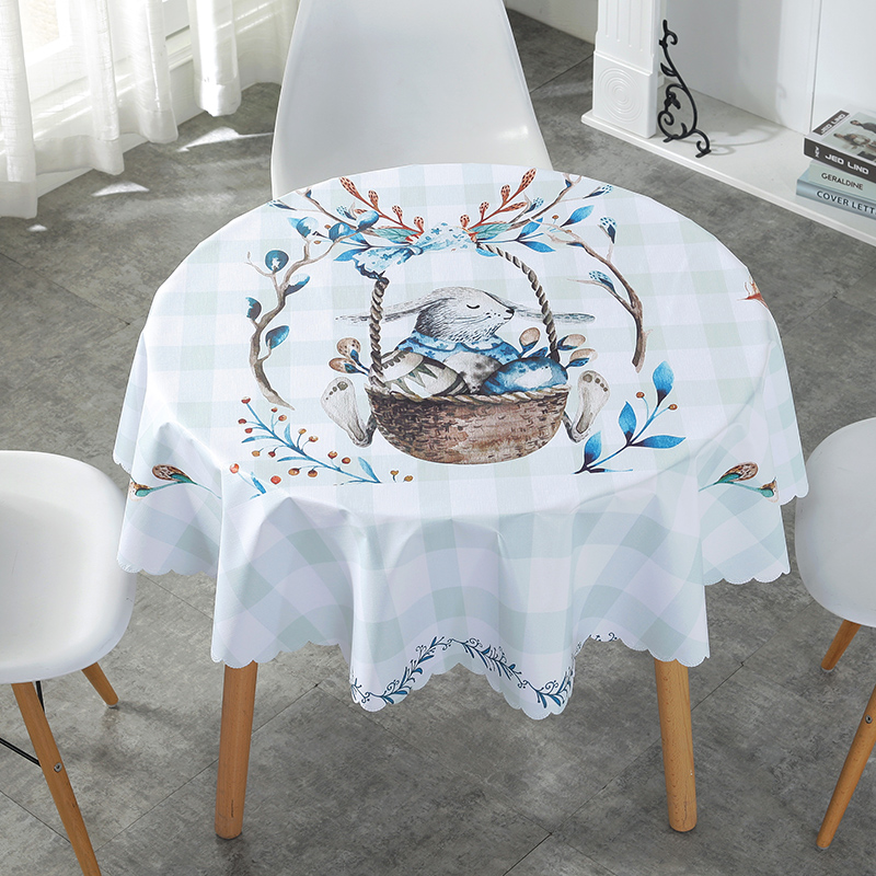 Proud Rose Cartoon Waterproof Table Cloth Oilproof Tafelkleed Plastic PVC Oilproof Tablecloths Table Cover Home Decor
