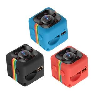 Mini Video Camera Espion SQ11 Small Body Gizli Kamera Micro Bike DV Night Vision Security cctv Cam SQ 11 Support Hidden SD Card(China)