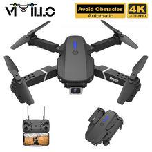 Drone Pro E525 4K HD professionnel avec caméra, WIFI FPV, trois côtés pour éviter les obstacles, RC quadrirotor, cadeaux, PK E525S
