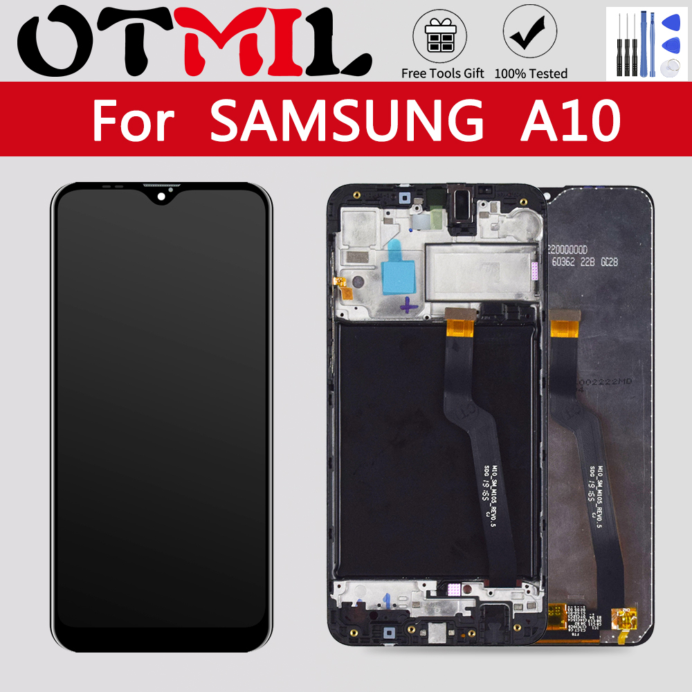 <font><b>LCD</b></font> For <font><b>SAMSUNG</b></font> A10 <font><b>LCD</b></font> Display Touch Screen Digitizer For <font><b>Samsung</b></font> Galaxy A10 <font><b>M10</b></font> <font><b>LCD</b></font> A105 A105/DS M105 Replacement image