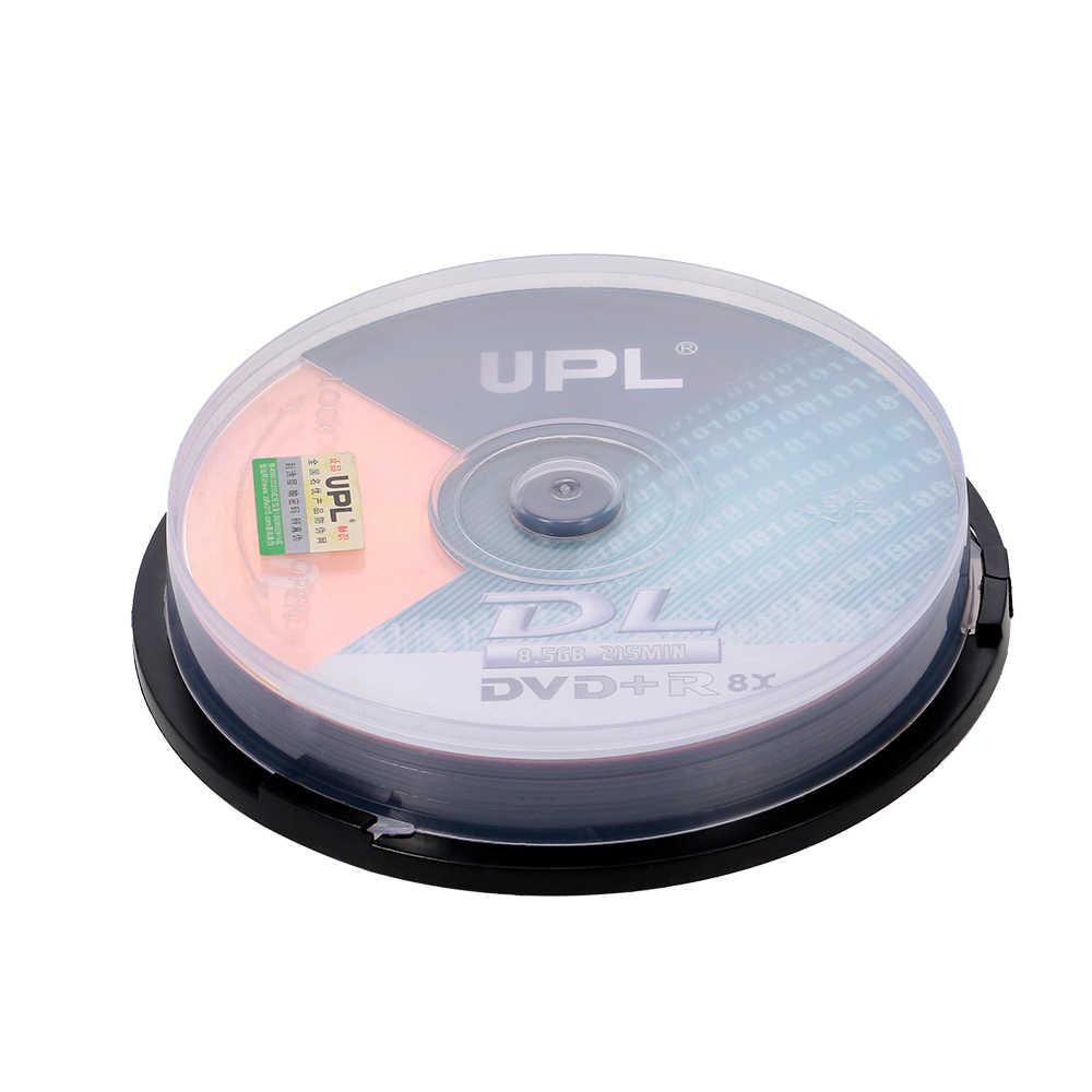 10 Pcs 215 Min 8X DVD + R DL 8.5GB Kosong Disc Dvd Disk untuk Data & Video Lebih Banyak lebih Tinggi untuk 8X DVD + R DL Rekaman Kecepatan