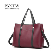 ISXTW Women Bag Fashion Casual Contain Two Packages Luxury Handbag Designer Shoulder Bags New for Composite /B22