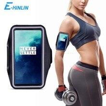 Spor Salonu Koşu Egzersiz Çantası Kılıfı Kol Bandı OnePlus One Plus 8T 8 7T 7 Pro 5G 6T 6 5 5T 3 3T 2 1 X Telefon Çanta Kapağı