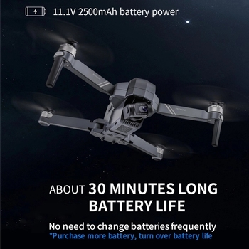2021 NEW F11 PRO 4K GPS Drone With Wifi FPV 4K HD Camera Two-axis anti-shake  Brushless Quadcopter Vs SG906 Pro 2 RC Dron Toys 4