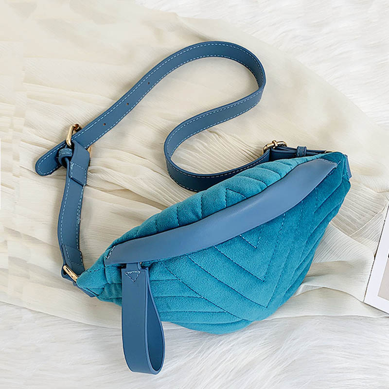 Casual Travel Belt Bag Fashion Chest Shoulder Bag For Women 2019 Waist Bags Winter Fanny Pack High Quality Zipper Pouch
