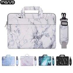 2020 nova luva do portátil saco para macbook dell acer lenovo asus 13.3 14 15 15.6 16 polegada notebook caso capa bolsa de ombro maleta