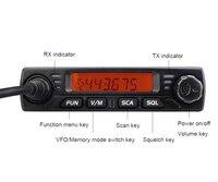 """ווקי טוקי RETEVIS RT98 רכב נייד רדיו ווקי טוקי VHF (או UHF) 15W 199CH דו כיוונית רדיו חובבים רדיו LCD התצוגה של הרדיו באוטו מקמ""""ש (3)"""