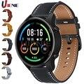 Кожаный ремешок для Xiaomi Smart Mi Watch Color Sports Edition, ремешок для часов, браслет 22 мм, браслет для Huami Amazfit gtr 2 2e