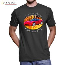 2019 New Spring High-Elastic Cotton Funny Brand Clothing Chevy Corvette Zr1 Fast And Fierce Men`S Dark Make Your Own Shirt