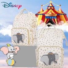 купить Disney Mickey Minnie Diaper Bags USB Backpack Baby Mommy Travel Large Capacity Bag Multifunction Baby Stroller Bag Nappy Mummy по цене 1879.04 рублей