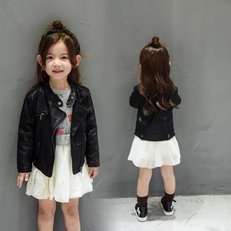 girls jackets  girl coats leather jacket windbreaker