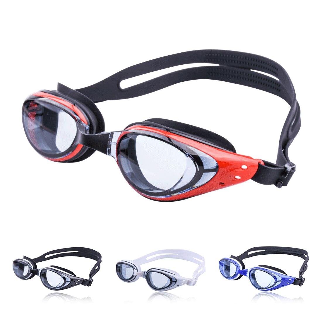 Плавательные очки для близорукости по рецепту водонепроницаемые