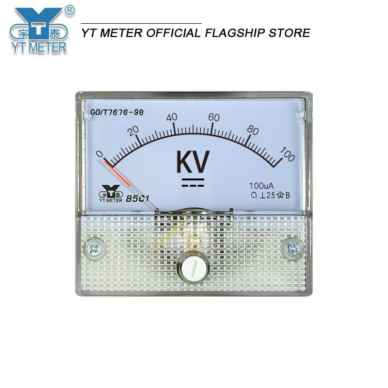 85c1 вольтметр высокого напряжения постоянного тока 5 кв 10 кВ 20 кв 50 кв 100 кв указатель Вольтметр Сопротивление киловольтметр Обнаружение Высо...
