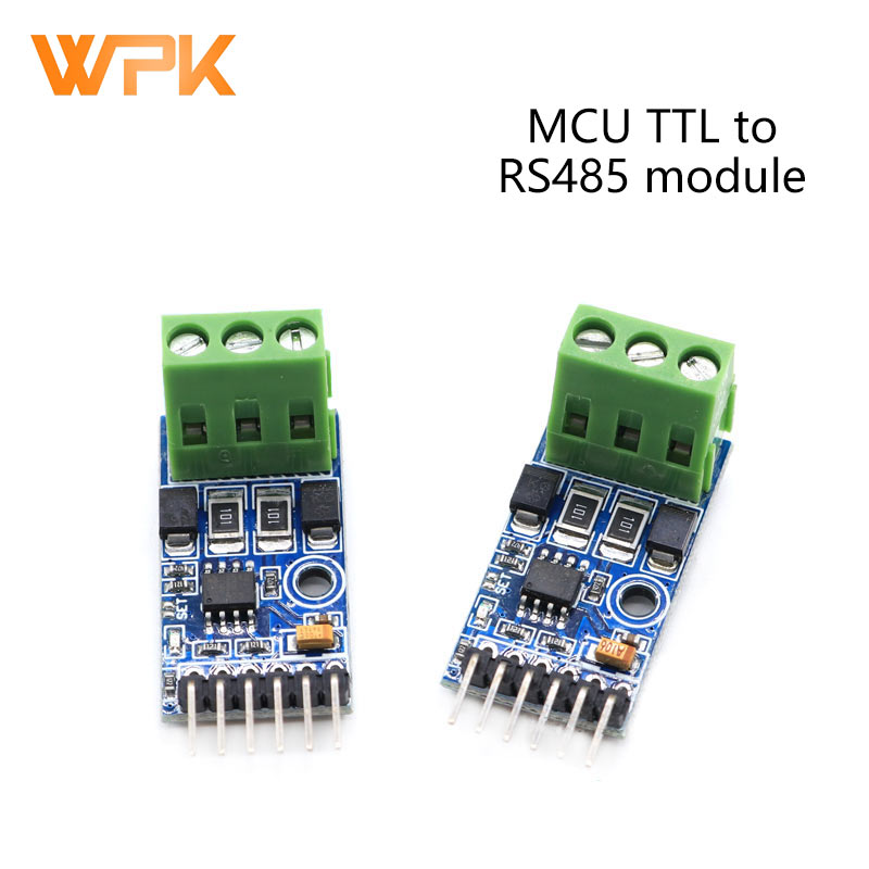 1Pcs Single Chip Microcomputer TTL To RS485 Module 485 To Serial Port UART Automatic Two-Way Hardware Automatic Flow Control