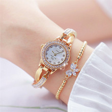 BS Hot Luxury Quartz wrist watches Women Waterproof Alloy Bracelet Clock Noble Gorgeous Lady Watch Montre Femme Reloj Mujer W5 noble lady crystal quartz wrist watch white strap