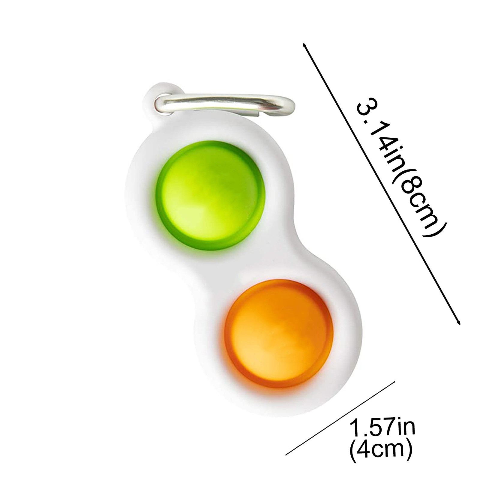 Popit Toy Fidget-Toys Squeeze-Fidget Stress Relief Push Bubble Simple Dimple Relieve-Stress img2