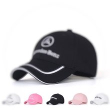 2020 auto logo custom made hat per Mercedes benz CLA 250 Accessori 212 203 e350 C300 Berretto Da Baseball del cappello della protezione Del Sole cappello per gli uomini e le donne