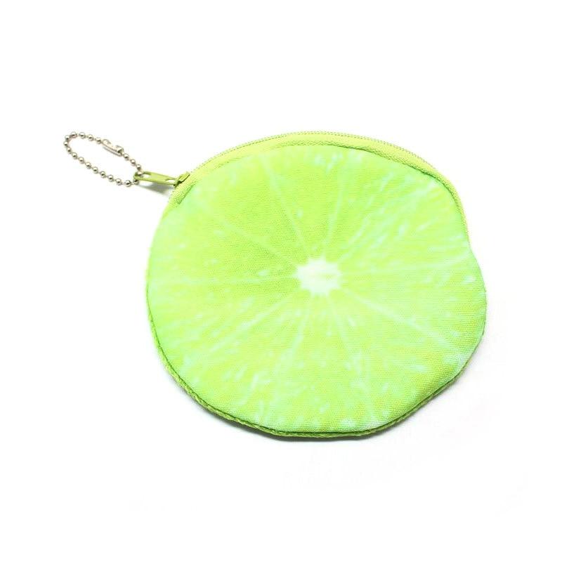 Korean-style Creative Cute Coin Key Simple Cool Storgage Bag Purse Mini Fruit Wallet