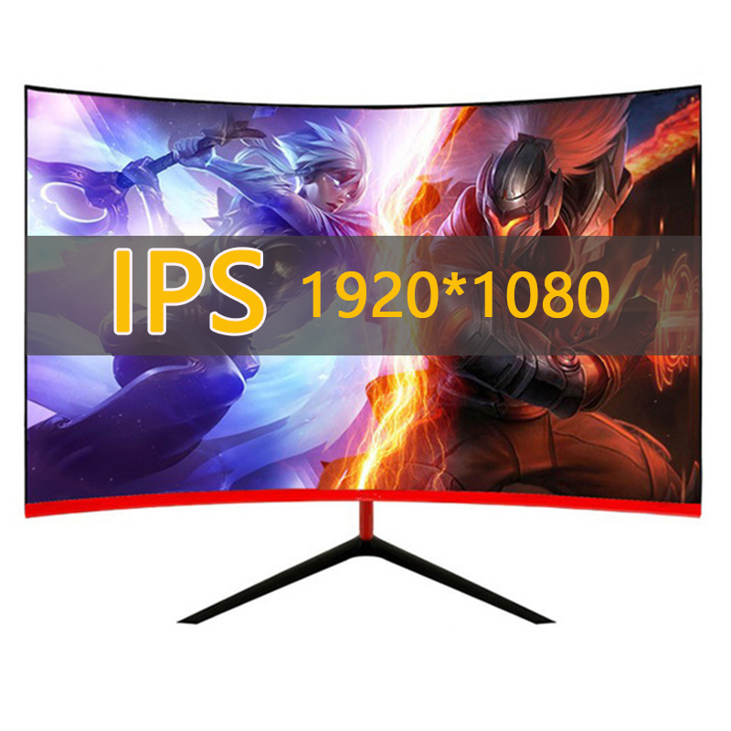 IPS 24 inç monitör Gamer LCD 1920*1080 75HZ HD ekran oyun monitörü PC HDMI bilgisayar monitörü masaüstü ofis