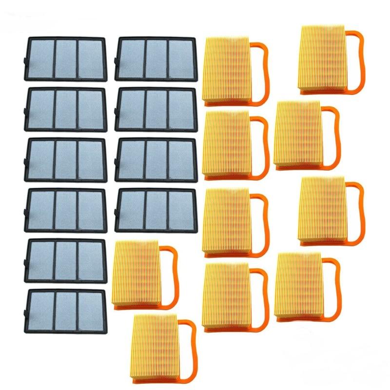 For Stihl TS410 TS420 TS480 TS500i Cut Off Saws Air Filter Attachment Set 10pcs