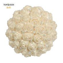 Искусственный букет для невесты topqueen искусственный цветочный