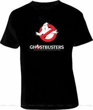O fantasma busters vintage fantasma retro la vintage camiseta design tshirt impressão roupas esportivas masculino topos camiseta