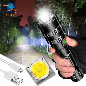 ZHIYU Rechargeable tactical LED flashlight 8000LM LED L2 Tactical Torch Super Bright Hunting light Waterproof for 18650 battery 10000lums led l2 red tactical flashlight super bright usb rechargeable torch clip hunting light waterproof for 18650 battery set