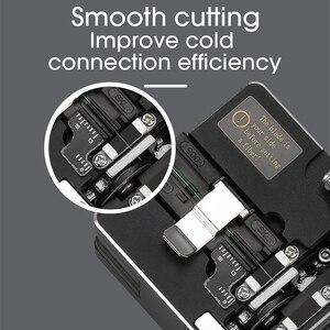 Image 3 - Novo SKL S2 fiber cleaver cabo faca de corte fttt fibra óptica faca ferramentas cortador de alta precisão fibra cleavers 16 lâmina de superfície