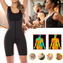 S-2XL Women Waist Trainer Bodysuit Hot Sweat Sauna Suit Wais
