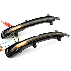Image 3 - Dinamica del Segnale di Girata LED Specchietto retrovisore Laterale Indicatore di Direzione Lampeggiante Ripetitore Luce Per Audi Q5 SQ5 8R 2010 2017 Q7 facelift 2010 2015