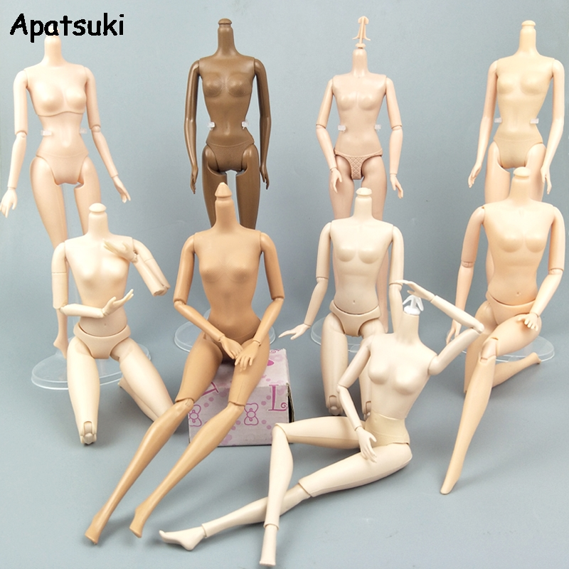 1/6 DIY Movable Nude Naked Jointed Doll Body For 1:6 11.5