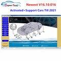 Недавно мини-vci V16.10.016/V14.20.019 программное обеспечение для TOYOTA Techstream FT232RL чип J2534 OBD2 диагностический кабель MINI-VCI