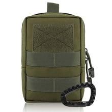 Tactical MOLLE Pouch EDC Men Belt Waist Bag Utility Gadget Gear