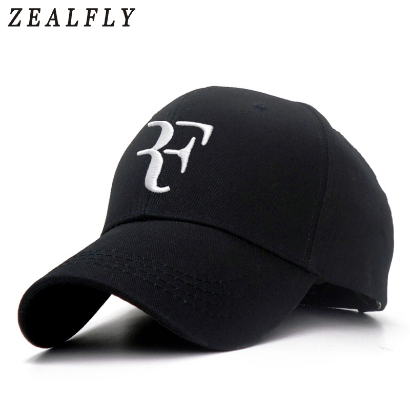 100% Cotton 3D Embroidery Tennis Star Roger Federer Dad Hat Sport   Baseball     Cap   Unisex Snapback   Caps   Tennis F Mens   Caps