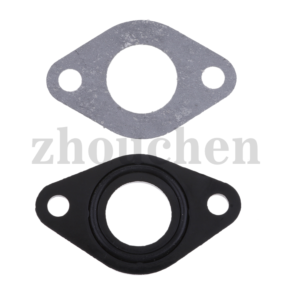 1 Set Carb Isolater <font><b>Carburetor</b></font> Gasket O Ring Spacer For 50cc <font><b>70cc</b></font> 90cc 110cc 125cc ATV / Dirt Bike Scooter image