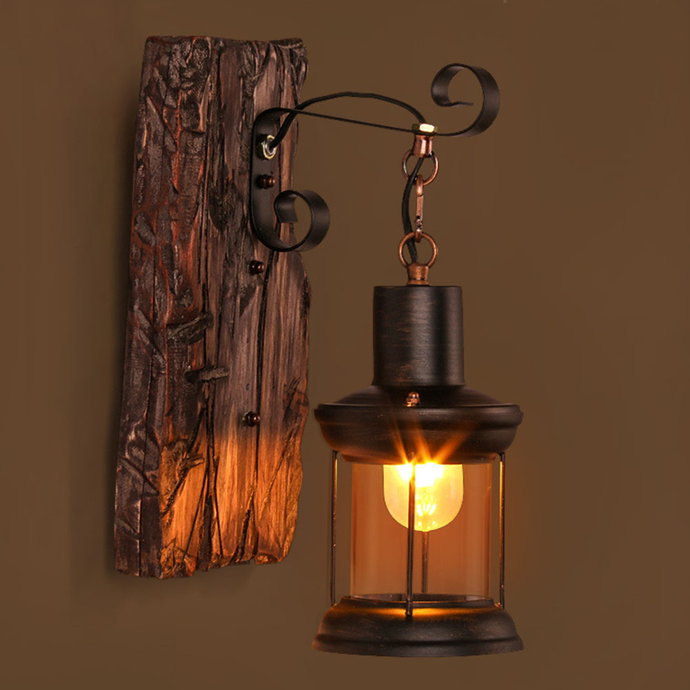 lâmpada de parede loft café levantamento arandela