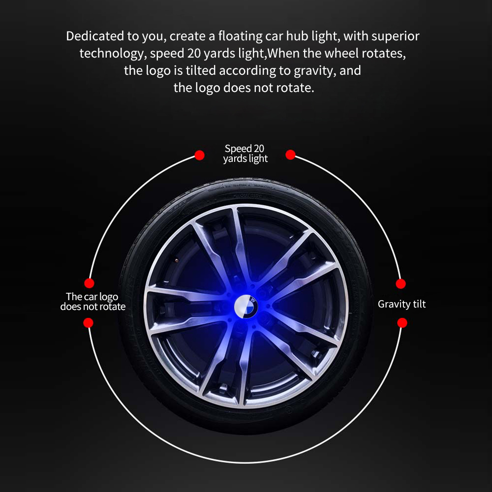 New 1x Wheel Rim Center Hub Caps Black