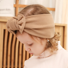 Infant Bow Headbands Girl Headband Children Hair Accessories Newborn Bowknot cotton Hairbands Baby Photography Props