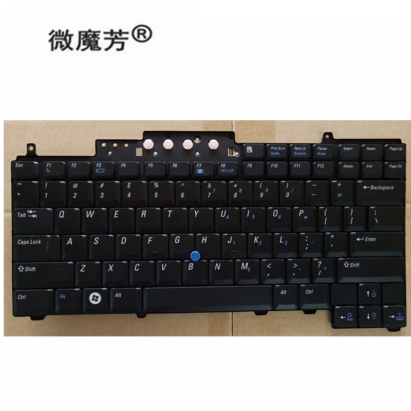 New US Keyboard For DELL Latitude D620 D630 D820 D830 Keyboard