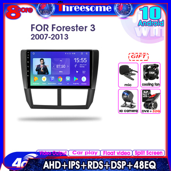 Android 10.0 Car Radio For Subaru Forester 3 SH 2007-2013 2 Din Multimedia Player GPS Navigation DSP RDS 2+32G Floating window image