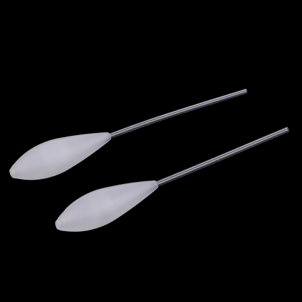 2pcs Bombarda Floats Slow Sinking Fly Fishing Spinning Float Carp Coarse Trout Bass Sea Lure Casting Fishing Accessories