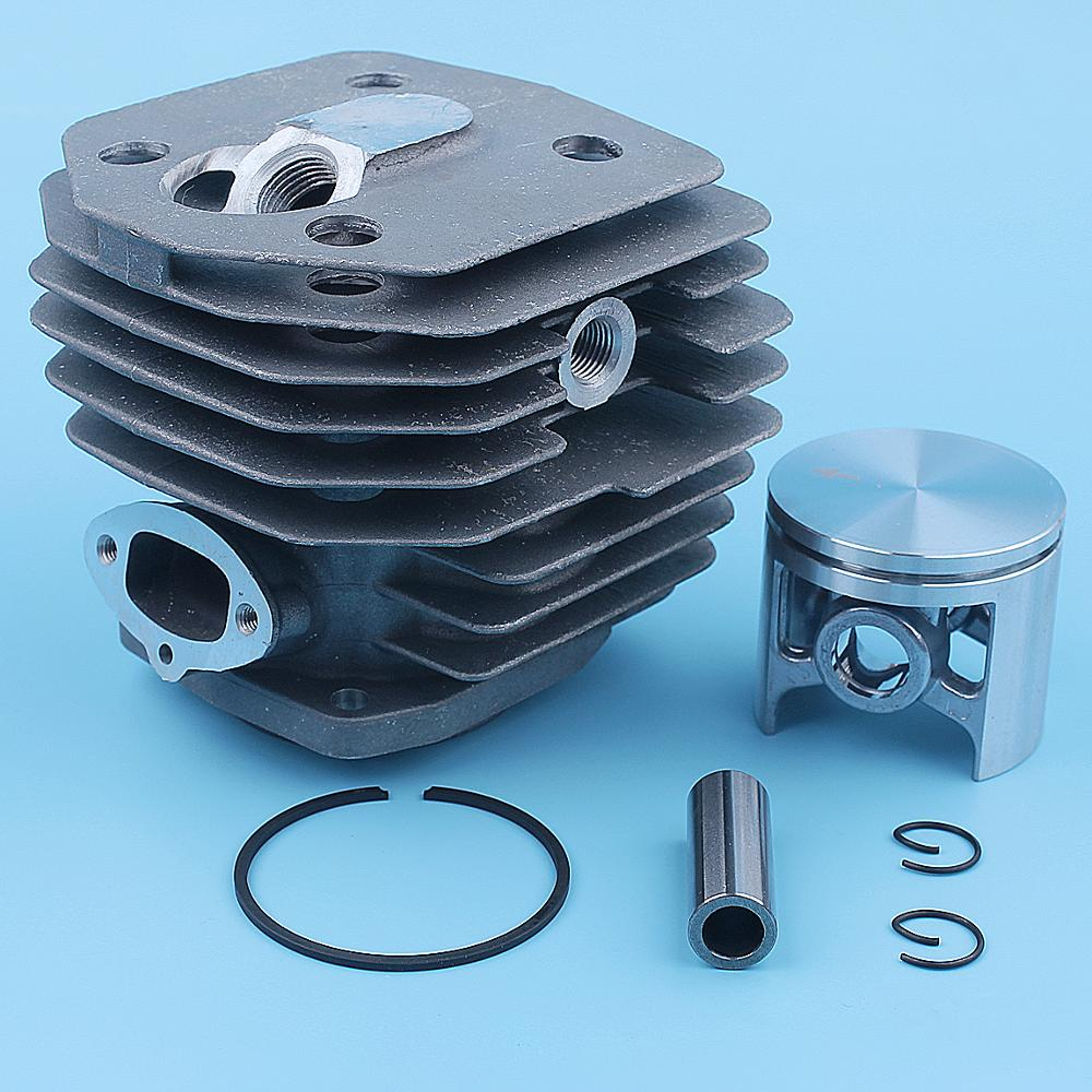Tools : 45mm Cylinder Piston Kit For Husqvarna 154 154XP 254 254XP Chainsaw Replacement Spare Part 503503903 503503901