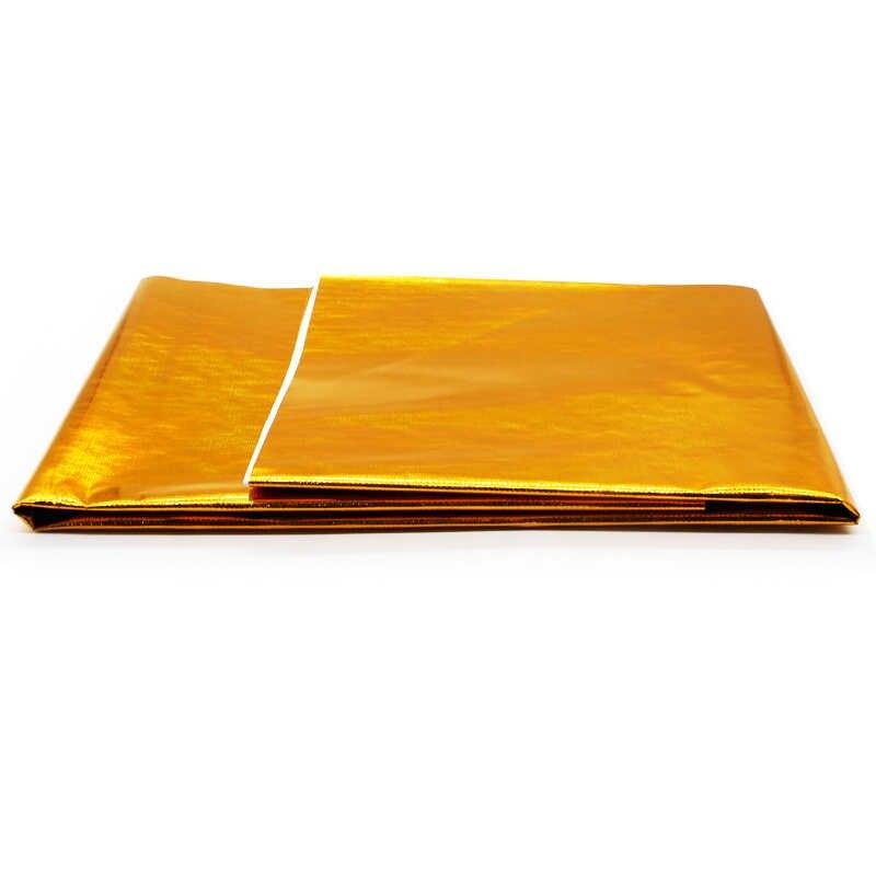 Khéo Léo 100X100 Cm Tự Dính Phản Quang Vàng Cao Nhiệt Độ Xả Giữ Nhiệt Quấn Băng Giấy Dán Bếp Cách Nhiệt Ô Tô Tạo Kiểu